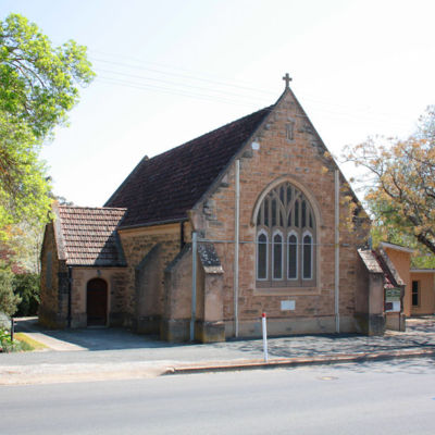 Angaston, SA - Church of St Hugh Anglican